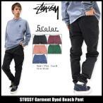 ステューシー STUSSY パンツ メンズ Garment Dyed Bea