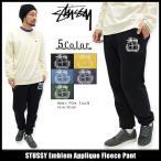 ステューシー STUSSY パンツ メンズ Emblem Applique(stussy Fleece Pant スウェットパンツ ボトムス 男性用 116294)