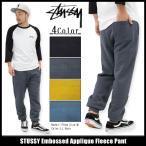 ステューシー STUSSY パンツ メンズ Embossed Applique(stussy Sweat Pant スウェットパンツ ボトムス 男性用 116295)