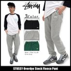 STUSSY Overdye Stock Fleece Pant
