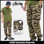 ステューシー STUSSY パンツ メンズ Seersucker Cargo