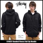 ショッピングSTUSSY ステューシー STUSSY パーカー ジップアップ メンズ Bonded Fleece(stussy full zip hoodie トップス 男性用 118204)