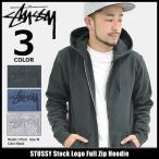 ショッピングstussy ステューシー STUSSY パーカー ジップアップ メンズ Stock Logo(stussy full zip hoodie トップス 男性用 118243)