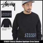ショッピングSTUSSY ステューシー STUSSY トレーナー メンズ Stussy Shadow Applique(stussy crew sweat スウェット トップス 男性用 118257)
