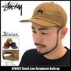 ステューシー STUSSY キャップ 帽子 Stock Low Strapback Cap(ストラップバック メンズ・男性用 131668)