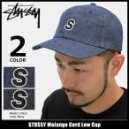 ステューシー STUSSY キャップ 帽子 Melange Cord Low Cap(ローキャップ ストラップバック 男性用 131717)