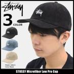 ステューシー STUSSY キャップ 帽子 Microfiber Low Pro Cap(ローキャップ ストラップバック メンズ・男性用 131754)