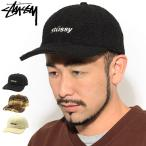 ステューシー キャップ 帽子 STUSSY Sherpa Fleece Low Pro Cap (ローキャップ ストラップバック シェルパ フリース 131954 USAモデル 正規)