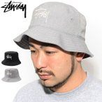 ステューシー バケット ハット STUSSY Big Logo Twill Bucket Hat 帽子 ( stussyhat メンズ・男性用 1321010 USAモデル 正規 )
