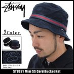 ステューシー STUSSY バケット ハット Mini SS Cord Bucket Hat 帽子(stussyhat メンズ・男性用 132723)