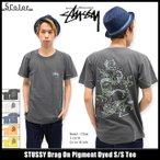 STUSSY Drag On Pigment Dyed S/S Tee