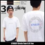 ショッピングstussy ステューシー STUSSY Tシャツ メンズ Circle Tour 1904007