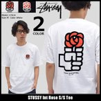 【31%OFF】STUSSY Int Rose S/S Tee
