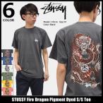 【6/26入荷予定】ステューシー STUSSY Tシャツ メンズ Fire Dragon Pigment Dyed 1904034