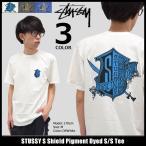ステューシー STUSSY Tシャツ メンズ S Shield Pigment Dyed 1904036