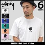 ステューシー STUSSY Tシャツ メンズ 8 Ball Stock 1904059