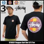 ステューシー STUSSY Tシャツ メンズ Reggae Surf Dot 1904070