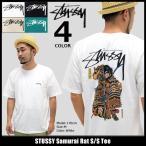 【6/26入荷予定】ステューシー STUSSY Tシャツ メンズ Samurai Rat 1904071