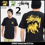 ショッピングSTUSSY ステューシー STUSSY Tシャツ メンズ Stock Lion 1904120