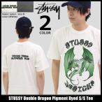 ステューシー STUSSY Tシャツ メンズ Double Dragon Pigment Dyed 1904162