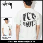 ステューシー STUSSY Tシャツ メンズ New Waves Tie Dye 1904203(タイダイ)