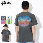 ステューシー Tシャツ 半袖 STUSSY メンズ Oasis Pigment Dyed ( stussy tee ピグメント カットソー トップス 1904204 USAモデル 正規 )