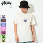 ステューシー STUSSY Tシャツ メンズ Stock Lion Pigm