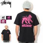 ステューシー Tシャツ 半袖 STUSSY メンズ Rasta Lion ( stussy tee T-SHIRTS カットソー トップス 男性用 1904430 USAモデル 正規 )