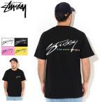 ステューシー Tシャツ 半袖 STUSSY メンズ New Wave Designs ( stussy tee T-SHIRTS カットソー トップス 男性用 1904544 USAモデル 正規 )