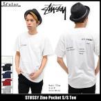 ステューシー STUSSY Tシャツ メンズ Zine Pocket 1943873