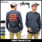 ステューシー STUSSY Tシャツ 長袖 メンズ S Wreath(stussy tee カットソー トップス ロンt 男性用 1993922)