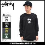 ステューシー STUSSY Tシャツ 長袖 メンズ Stock Link HO16(stussy tee カットソー トップス ロンt 男性用 1993974)