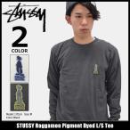 ステューシー STUSSY Tシャツ 長袖 メンズ Raggamon Pigment Dyed(stussy tee カットソー トップス ロンt 男性用 1994050)