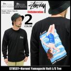 ステューシー STUSSY Tシャツ 長袖 メンズ Harumi Yamaguchi Raft コラボ(stussy×Harumi Yamaguchi トップス ロンt 男性用 1994099)