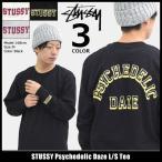 ステューシー STUSSY Tシャツ 長袖 メンズ Psychedelic Daze(stussy tee カットソー トップス ロンt 男性用 1994168)