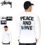 ステューシー Tシャツ 長袖 STUSSY メンズ Peace & Love ( stussy tee T-SHIRTS カットソー トップス ロンt 1994600 USAモデル 正規 )