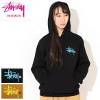 ステューシー プルオーバー パーカー STUSSY レディース WOMEN Basic Logo ( stussy hooded sweat スウェット 2921766 USAモデル 正規 )