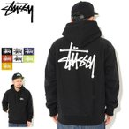 ���ƥ塼���� �ץ륪���С� �ѡ����� STUSSY ��� Basic Stussy(stussy hooded sweat �١����å� 1924339 1924378 1924257 USA��ǥ� ����)