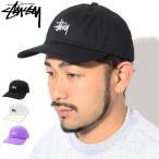 ステューシー キャップ 帽子 STUSSY Stock Low Pro Cap ( ローキャップ ストラップバック 男性用 131916 131863 USAモデル 正規 )