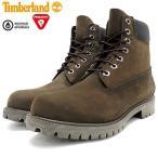 ティンバーランド Timberland ブーツ メンズ アイコン 6インチ プレミアム ミディアム ブラウン ヌバック(10001 ICON 6inch Boot 防水)