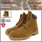 ショッピングティンバーランド ティンバーランド Timberland ブーツ メンズ 6インチ ベーシック パッド ラスト ヌバック(19076 6inch Basic Pad Boot Rust Nubuck 防水)