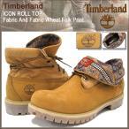 ティンバーランド Timberland ブーツ メンズ アイコン ロールトップ ファブリック アンド ファブリック ウィート フォーク プリント(6826A)