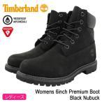 ショッピングTimberland ティンバーランド Timberland ブーツ ウィメンズ 6インチ プレミアム Black Nubuck(8658A Womens 6inch Premium Boot 防水)