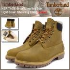 ティンバーランド Timberland ブーツ メンズ ヘリテイジ 6インチ シャーリング ライトブラウン シャーリング ラインド 限定(A1157 HERITAGE)