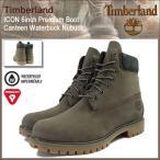 ティンバーランド Timberland ブーツ メンズ アイコン 6インチ プレミアム キャンティーン ウォーターバック ヌバック(A17PS 6inch Boot)