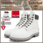 ティンバーランド Timberland ブーツ メンズ 男性用 アイコン 6インチ プレミアム ホワイト チェックメイト(A17ZW ICON 6inch Premium Boot)