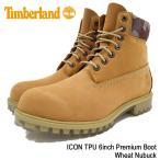 ショッピングティンバーランド ティンバーランド Timberland ブーツ メンズ アイコン TPU 6インチ プレミアム ウィート ヌバック(A1GDZ ICON TPU 6inch Premium Boot Wheat)