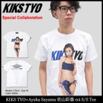 キックス ティー・ワイ・オー KIKS TYO Tシャツ 半袖 メンズ 佐山彩香 04(Ayaka Sayama 佐山彩香 04 S/S Tee Special Collaboration)