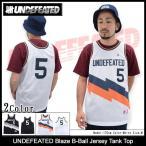 アンディフィーテッド UNDEFEATED ブレイズ バスケットボール ジャージ タンクトップ(Blaze B-Ball Jersey Tank Top メンズ 男性用 514206)