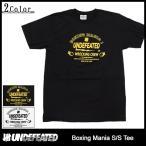 アンディフィーテッド UNDEFEATED Tシャツ 半袖 メンズ ボクシング マニア(Boxing Mania S/S Tee カットソー トップス 男性用 5900768)